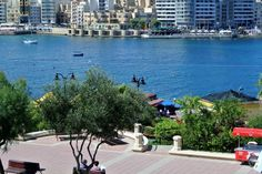 Seafront apartment Sliema - Flats for Rent in Tas-Sliema, Sliema, Malta Flat Rent, Rental Apartments, Malta, Perfect Place, Country, Places, Outdoor Decor, Holiday, Ideas