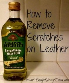 How to Remove Scratches from Leather