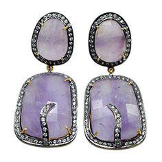 Silvesto Jaipur Pink Amethyst & CZ 925 Sterling Silver Gold Plated Earrings Jewelry PG 4483 Silvesto Jaipur http://www.amazon.com/dp/B01BNAFBWM/ref=cm_sw_r_pi_dp_htXVwb07HNQSD