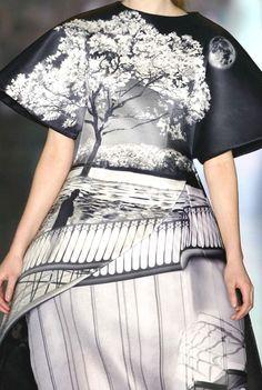 Stampe e patterns dalla London Fashion Week (collezioni donna autunno/inverno 2013/14).  Mary Katrantzou