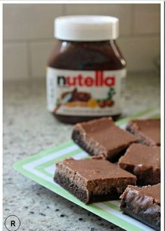 Nutella Cheesecake Brownies.You will love them for sure!