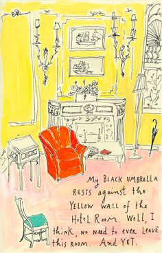 i love crazy happy little drawings. this is maira kalman's