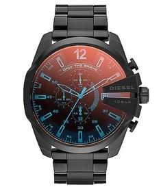 Diesel Mega Chief Watch at Buckle.com Sale! Up to 75% OFF! Shop at Stylizio for women's and men's designer handbags, luxury sunglasses, watches, jewelry, purses, wallets, clothes, underwear & more!