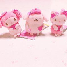 【__peach96】さんのInstagramをピンしています。 《. かわいこちゃん今年もかわいこすぎるよ( ´•̥_•̥` ) . このシリーズだけは外せなさすぎ、、 * #サンリオ #マイメロディー #ポムポムプリン #ハローキティ #桜モチーフシリーズ #桜 # #ピンク #春 #sanrio #mymelody #pompompurin #hellokity #pink #spring》