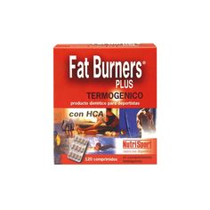 Fat Burners Plus: quema grasas con L-carnitina y cafeína proveniente del guaraná