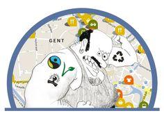App van Ecoplan Gent gidst je duurzaam door de solden | Netwerk Bewust Verbruiken