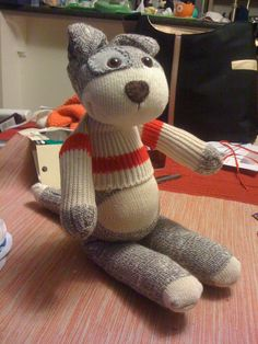 Socrates. (my friend's awesome sock animals)
