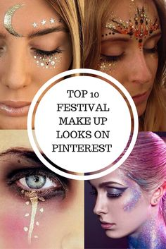 ✕ ✕ F E S T I V A L ✕ ✕ My personal collection of my favorite festival make up pins! All pictures are taken from pinterest and don't belong to me.