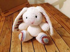 Amigurumi facile tuto gratuit : Un petit amigurumi lapin au crochet patron gratuit háčkované