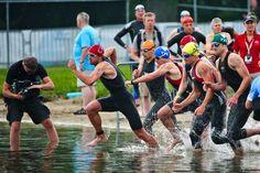 Jump into a half Ironman with Matt Fitzgerald's easy to follow training plan. Photo: Nils Nilsen