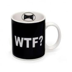 Deja que la #taza lo diga por tí #wtf ?  La puedes encontrar aquí: http://www.regatron.es/taza-wtf.html
