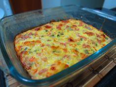 Omelete de forno saboroso - Receita rápida #1