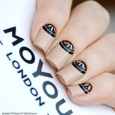 Beautiful Unique and Trendy Nail Designs 2017 Nagel Stamping, Stamping Nail Art, Gel Nail Art, Diy Nails, Cute Nails, Pretty Nails, Uñas Diy, London Nails, Modern Nails