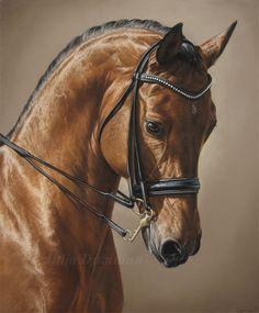 Priator - horse pastel drawing by Julyart on deviantART
