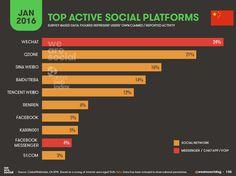 Social Media Usage China January
