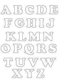 letras do alfabeto para pintar em fraldas - Pesquisa Google