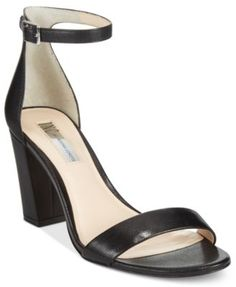 INC International Concepts Kivah Block Heel Dress Sandals, Only at Macy's $89.50 Dress up your look any time of day with the delicate ankle strap and chunky, block heel on INC International Concepts' Kivah sandals.