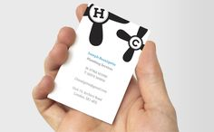 It's so hard to find a good plumber – but you can be the one they trust, with these simply rendered Business Cards for plumbers #moocard #businesscard