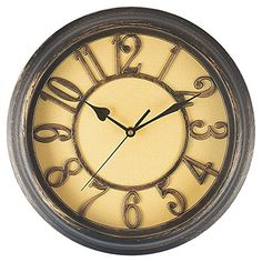e367da9abff Benail 12 Inch Retro Non Ticking Silent Quartz Decorative Wall Clock Quality