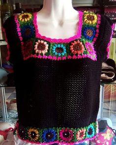Crochet Cowel, Crochet Blouse, Crochet Motif, Knit Crochet, Crochet Woman, Easy Crochet Patterns, Beautiful Crochet, Crochet Clothes, Knitting