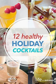 12 Healthier Holiday Cocktail Recipes