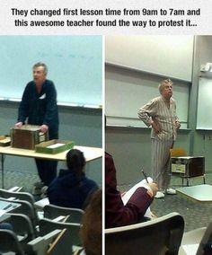 Awesome teacher