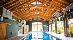 Lake Austin Spa - I want to swim in this pool!
