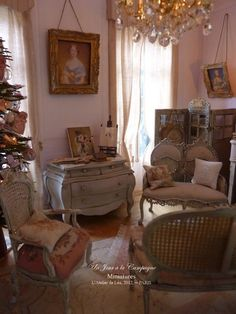 *♥ Atelier de Léa - Un Jour à la Campagne ♥*: Noël en rose et bleu