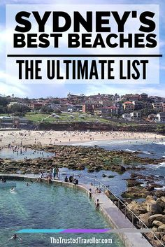 Bronte Beach in Sydney's Eastern Suburbs is included in Sydney's Best Beaches: The Ultimate List from The Trusted Traveller. And of course you'll want to include a beach or two in your Australia travel plans. Coogee Beach, Airlie Beach, Australia Tourism, Sydney Australia, Australia 2018, Visit Australia, Victoria Australia, Western Australia, Melbourne
