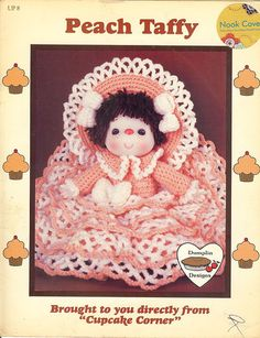 Buttermilk Biscuit Doll Dumplin Designs Crochet PATTERN//INSTRUCTIONS