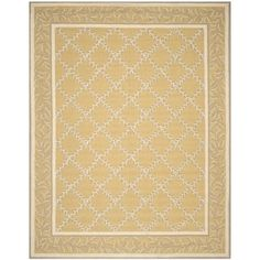 Shop for Safavieh Hand-hooked Chelsea Yellow/ Grey Wool Rug (8'9 x 11'9). Get free shipping at Overstock.com - Your Online Home Decor Outlet Store! Get 5% in rewards with Club O! - 15922919