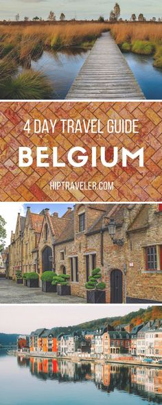 A 4 day itinerary to exploring Belgium, with stops in Brussels, Bruges, Antwerp, and Liège. Best things to do in each city + tips on restaurants, hotels, attractions and more. Europe Travel Guide. | Blog by HipTraveler #Belgium #Europe
