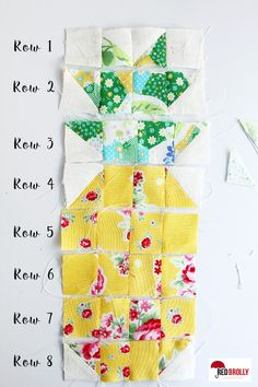 pineapple quilt block