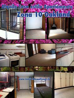 Alquilo Casa estilo apartamento Zona 10 Oakland 3 Dormitorios 1 Parqueo 1 baño Sala Comedor, sala familiar o estudio estilo pergola interior, cocina equipada, patio, servicio con baño Excelente ubicacion, ahorre gasolina , muy cerca de area comercial y financiera, universidades y mas. Renta $520 Visitas 42387726 51844109 anaurrutia@live.com www.inmueblesonlinegt.tk Facebook Bienes Inmuebles GT LinkedIn Bienes Inmuebles GT Twitter @Alfredo Malatesta Inmobiliaria Perú GT