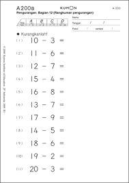 Hasil gambar untuk Kumpulan soal kumon matematika level 1 O Level Maths, O Levels, Math Worksheets, Education, School, Doodle, Check, Math Exercises, Scribble