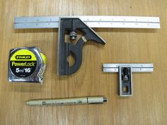 Skill Set: Woodworking Project Layout And Layout Tools