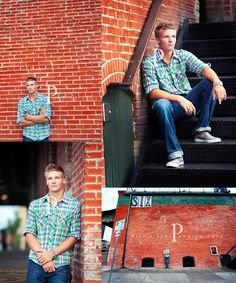 Boys senior portraits