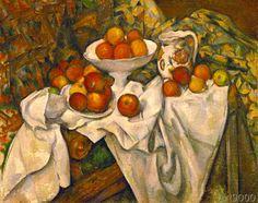 Paul Cézanne - Pommes et oranges