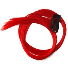 "22"" Clip-in Straight Hair Extension (Red Hot Chili) by Winstonia. $0.85. Width: 1.1'', Length: 22''; Non-chemical hair color; Hair Grade:Non-Remy Hair; Material: Synthetic Hair; Quantity: 1. Add a splash to your hair for some fun! This neon pink clip in hair extension is 22 inches long with 1.1 inches width.   Instant ""highlight"" without chemical treatment!"