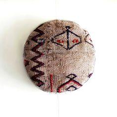 Homeware – Round Ottoman Kilim cushion – a unique product by RitzySelection on DaWanda