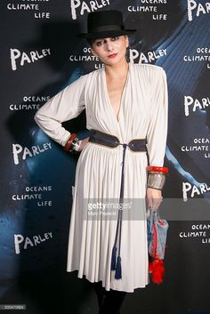 Catherine Baba attends the 'Parley Talks' photocall at Les Bains Douches on December 8, 2015 in Paris, France.