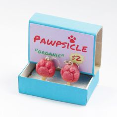How to make DIY Zootopia Pawpsicle Earrings. In this DIY tutorial i show how i made polymer clay Pawpsicle Earrings. those cute polymer clay earrings is easy craft and can be a great gift idea. those DIY cute earrings comes with a the Pawpsicle ice box as shown in the Zootopia movie.