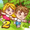 Jim Loves Mary 2 - http://www.allgamesfree.com/jim-loves-mary-2/    You probably remember Jim and Mary' story, don't you? The two lovers who had to go against all odds and solve all kinds of riddles to meet? Now you have a chance to play the continuation of this story and help Jim and Mary stand up to their next challenge – a mysterious forest full of wild anima...