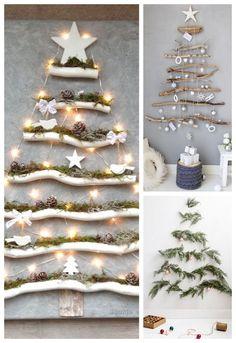 Christmas Origami, Diy Christmas Tree, Christmas Fashion, Xmas Tree, Simple Christmas, Christmas Window Decorations, Halloween Door Decorations, Handmade Christmas Decorations, Aussie Christmas
