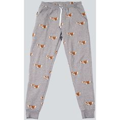Mogwai Joggers ($49) found on Polyvore featuring women's fashion, activewear and activewear pants