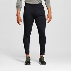 Men's Tech Fleece Jogger Sweatpants Black 2XL - C9 Champion, Size: Xxl