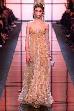 Armani Privé Spring 2017 Couture Fashion Show