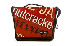 The T3 Hip City Messenger Bag- Nutcracker, from our National Ballet of Canada Line. -$155 (http://www.totembags.ca/t3-hip-city-messenger-bag-nb-nutcracker/)