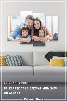 Create special moments and print your photo on canvas with Elephant Stock. Or choose from our unique selection of art, handcrafted in the USA.