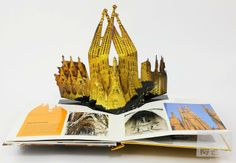 Gaudi Pop-ups: Explore the works of Spain's famous architect, Antoni Gaudi in this fun pop-up book!